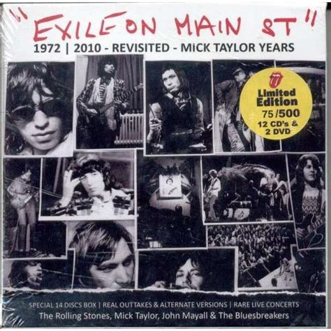 Cd Original Rolling Stones Exile On St exile on st ltd 500 copies 12cd 2dvd box booklet by rolling stones cd box with