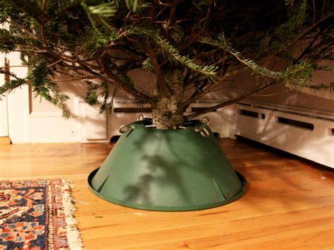tree hacks diy galvanized christmas tree collar hack diy network