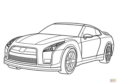 nissan cars coloring pages nissan coloring pages coloring nissan gt r coloring page free printable coloring pages