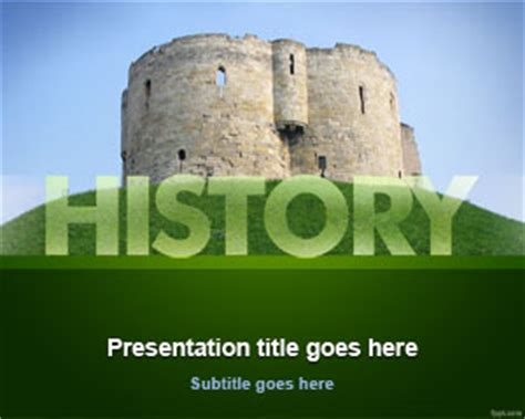 new powerpoint background history theme business plan template