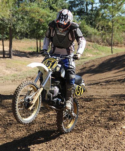retro motocross post vintage mx ahrma