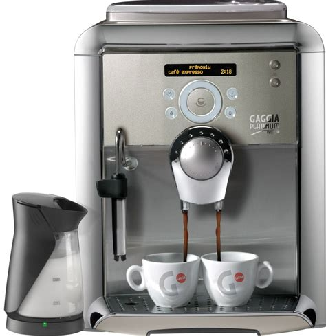 gaggia swing up gaggia platinum swing up espresso machine quot chagne quot