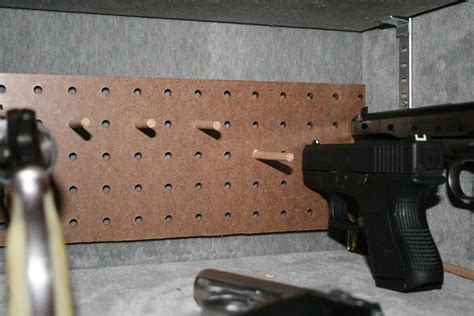Pegboard Gun Rack by Show Your Diy Ideas And Projects Texaschlforum