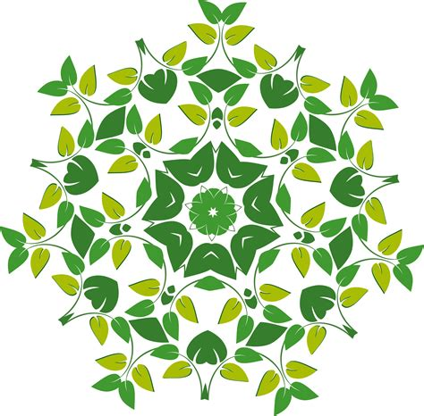 vector pattern png clipart leafy design