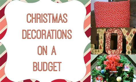christmas decorating ideas on a budgetchristmas party