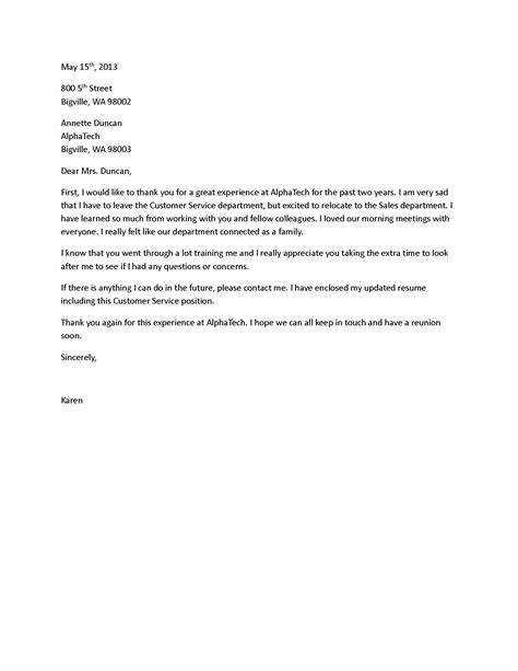 goodbye letter template how to write a farewell letter to coworkers
