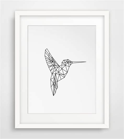 printable wall art birds die besten 17 ideen zu geometrischer fuchs auf pinterest