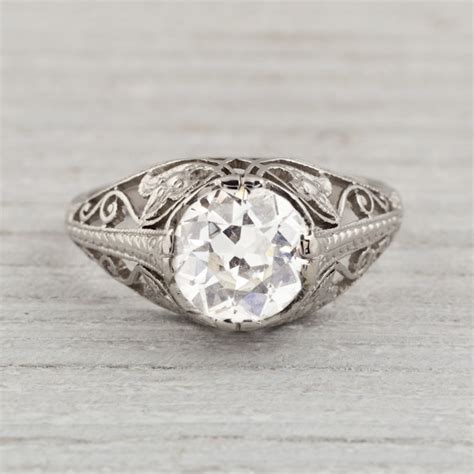 top 18 vintage engagement rings list fashion
