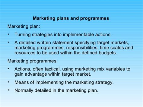 Mba 560 Marketing Management And Strategy by Strategic Marketing Ppt Mba