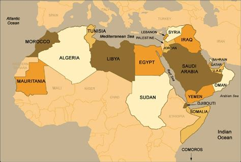 arab map countries the arab american marketing guide you can t ignore