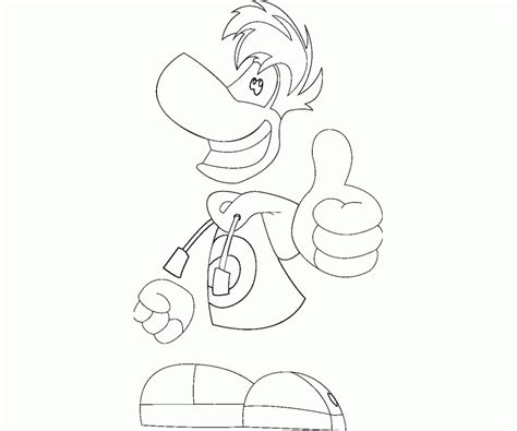 rayman legends coloring pages coloring home