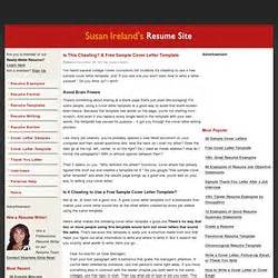 cover letter guide susan ireland work pearltrees