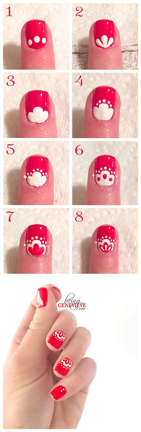nail art tutorial wikihow oriental lace being genevieve