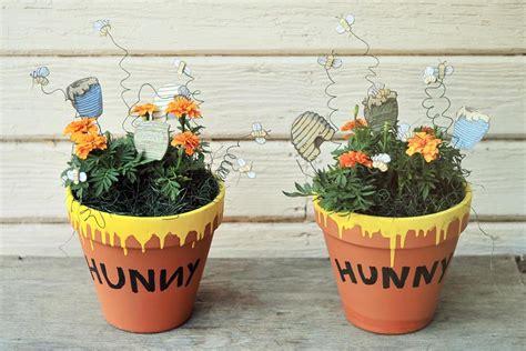winnie the pooh baby shower centerpiece ideas hunny pots and pooh sticks winnie the pooh baby shower