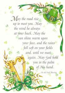 st patricks day poem luck of the