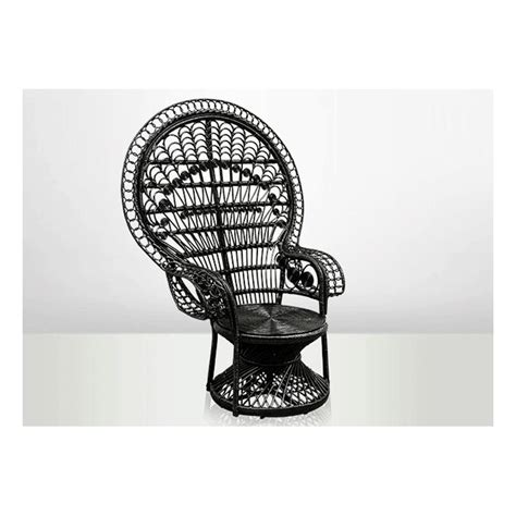 chaise emmanuelle chaise emmanuelle en rotin noir chaise emmanuelle