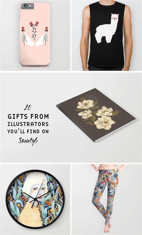 Society6 Gift Card - society6 gift guide 20 great gifts adorned by illustrators