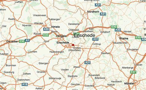 enschede netherlands map enschede map images
