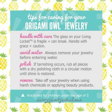 How To Clean Origami Owl Jewelry - how do i care for my origami owl jewelry direct sales