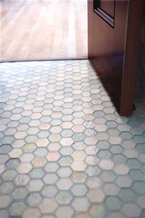 Hexagon Tile Bathroom Floor by Bathroom Glass Hexagon Floor Glass Tile