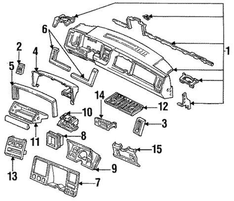 96 gmc suburban c1500 fuse box 96 ford contour fuse box wiring diagram elsalvadorla oem 1996 chevrolet suburban k1500 instrument panel parts gmpartsonline net