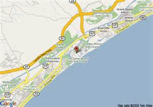 us map myrtle sc map of myrtle marriott resort and spa at grande