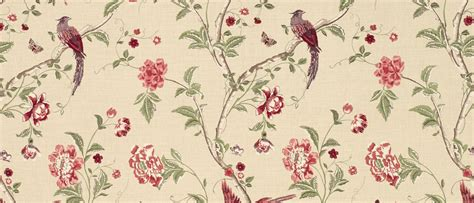 laura ashley floral curtains summer palace cranberry red floral linen curtain fabric