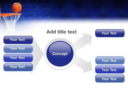 basketball match powerpoint template backgrounds 01816