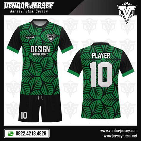 Desain Baju Futsal Warna Hijau Tosca | desain baju futsal verdure vendor jersey futsal