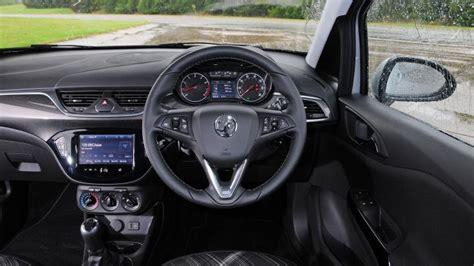 vauxhall corsa inside vauxhall corsa hatchback interior dashboard satnav