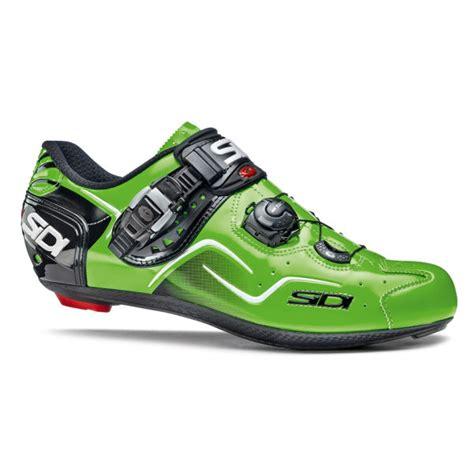 Kaos Shoes sidi kaos carbon cycling shoes black green fluo 2015