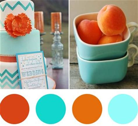 what colors go with orange 17 images about orange weddings on pinterest wedding