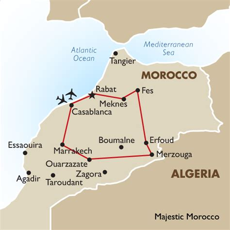 middle east map morocco majestic morocco africa goway travel