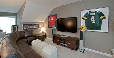 framed jerseys  sports themed teen bedrooms  sophisticated man caves