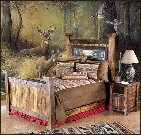 Hunting Bedroom Decor | decorating theme bedrooms maries manor hunting