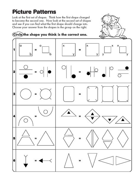 analogy pattern recognition questions math analogy worksheets 1000 images about math lessons