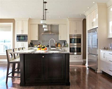 dark cabinets white island cool decorating ideas dark island white cabinets ideas pictures remodel and decor