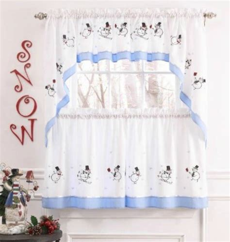 snowman curtains kitchen winter kitchen curtains snowman curtains for the kitchen