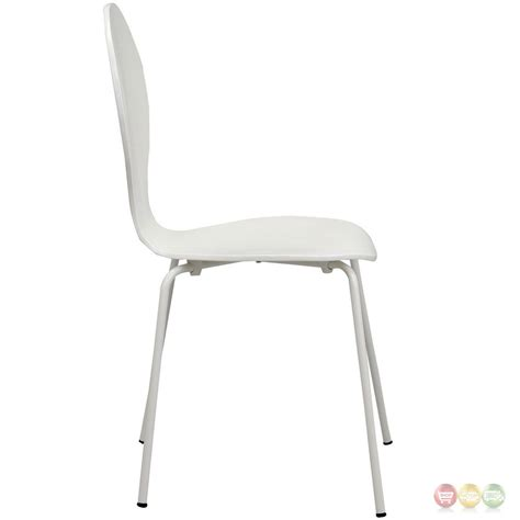 High Gloss Chairs by Insect Modern High Gloss Wood Side Chair With Chrome Legs