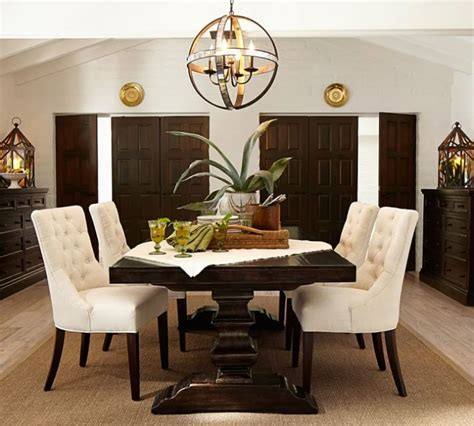 pottery barn dining room 11 most elegant chandelier designs by potterybarn home