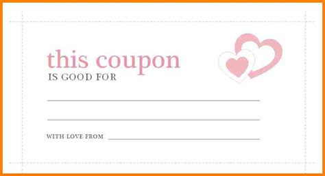 blank coupons templates printable blank coupons www imgkid the image kid