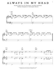 download mp3 coldplay always in my head download always in my head sheet music by coldplay sheet