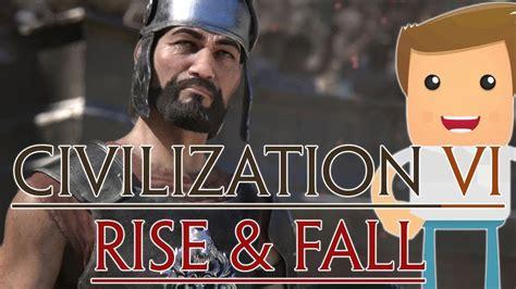 H E R O Rise And Fall civilization vi rise and fall primeros pasos gameplay
