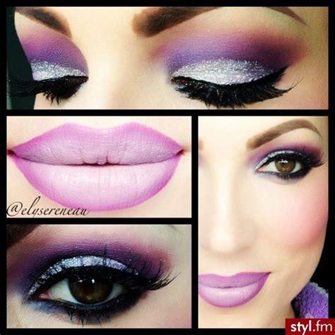 dramatic purple eyeshadow ben nye lumiere grand colour pressed eye shadow love