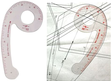 pattern drafting curves japanese bunka d curve ruler the perfect curve ruler for