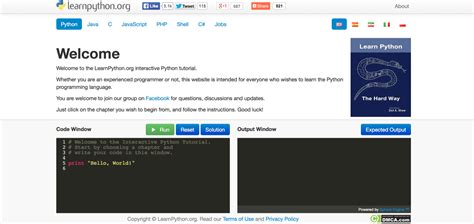 tutorial website python learn python online a guide codementor