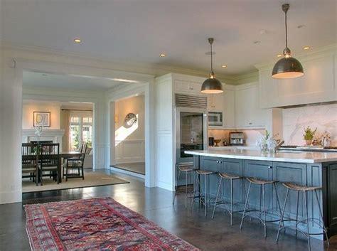concrete kitchen floor top kitchen flooring options that can make your design pop