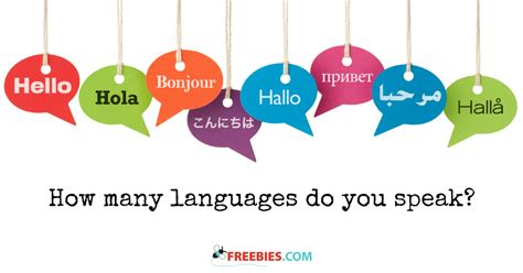 how do you a to speak how many languages do you speak