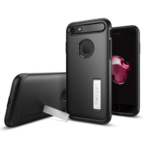 Slim Armor Spigen spigen slim armor for iphone 7 black accessoarer