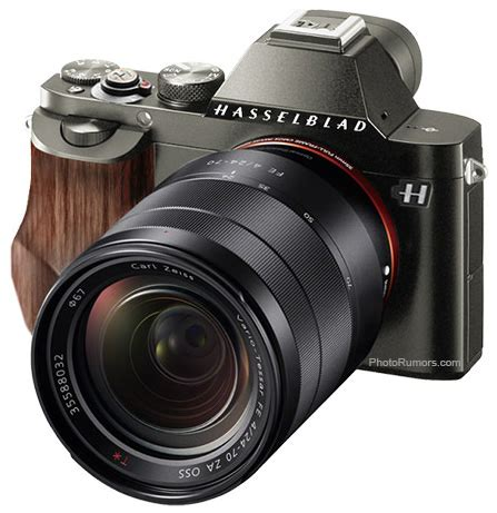 hasselblad making a sony a mount camera?